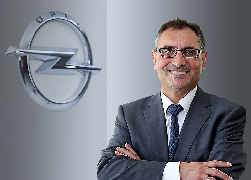 Antonio Cobo wird Vice President Manufacturing and Supply Chain bei Opel/Vauxhall